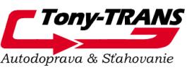 Tony-TRANS Autodoprava & Sťahovanie