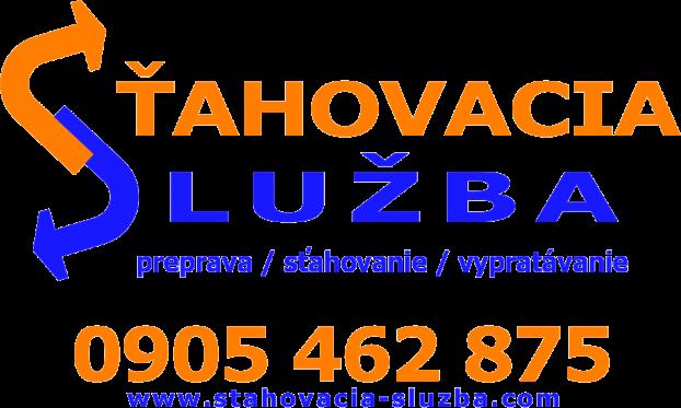 Sťahovacia služba Prievidza, Handlová, Nováky logo