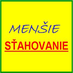 Menšie sťahovanie logo