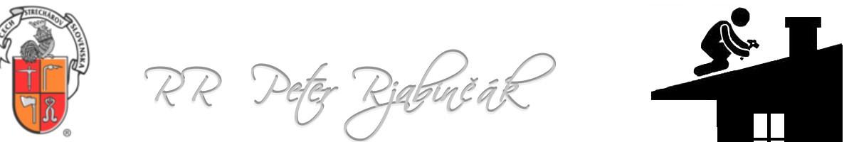 Peter Rjabinčák - R&R Strechy logo
