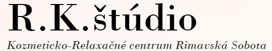 Renáta Kureková - R.K.ŠTÚDIO logo