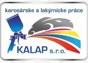KALAP s.r.o. - karosárske a lakýrnicke práce logo