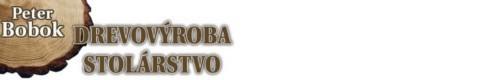 Peter Bobok - drevovýroba, stolárstvo logo