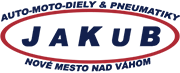 Jakub - Auto a moto diely, pneumatiky logo