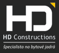 HD Constructions logo