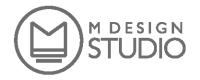 M design studio s.r.o. logo