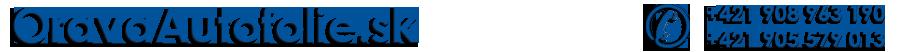 OravaAutofolie.sk logo