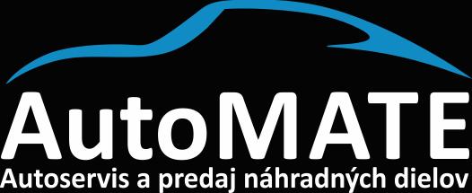 AutoMATE - Autoservis a predaj náhradných dielov logo