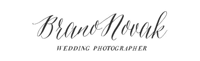 Mgr. Branislav Novák - svadobný fotograf logo