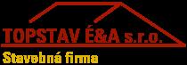 TOPSTAV É&A s.r.o. logo