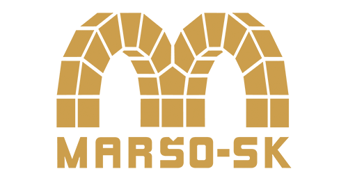 MARŠO - SK, spol. s r. o. - stavebná firma logo