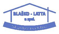 BLAŠKO – LATTA - stavebné práce logo