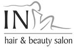 In hair & beauty Salon logo