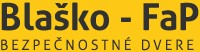 Blašké - FAP - bezpečnostné dvere logo