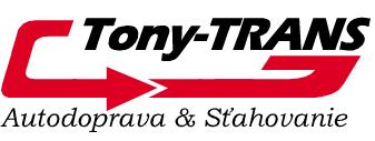 Tony-TRANS Autodoprava & Sťahovanie logo