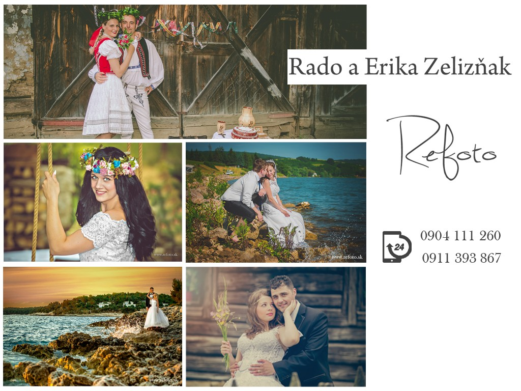 Erika Zelizňaková - REFOTO logo