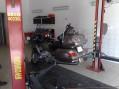 Interiér pneuservisu