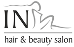 In hair & beauty Salon logo